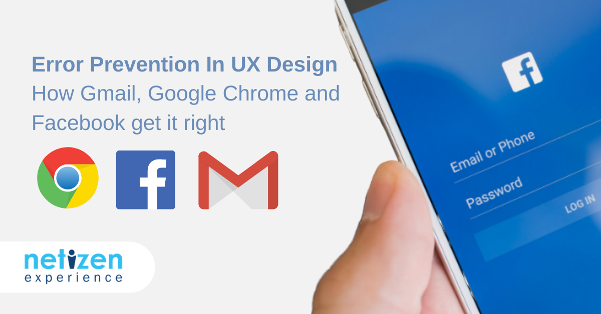 Error Prevention In UX Design: How Gmail, Google Chrome And Facebook Get It Right