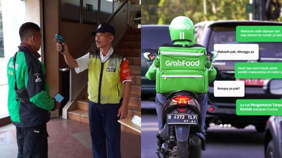 GoJek and Grabfood's User Experience of Contactless Delivery
