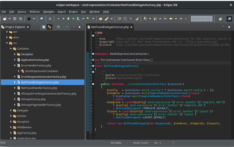 Programming IDE - dark mode