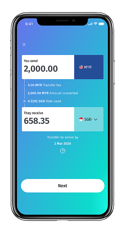 BigPay - Money Transfer