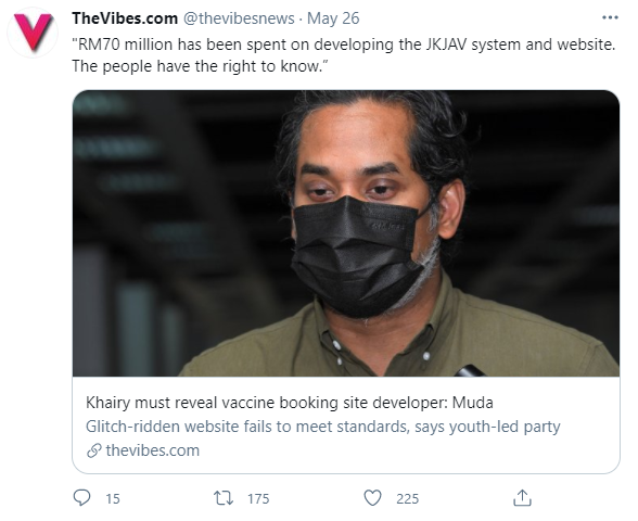 UX Failures of Malaysia's Vaccine Registration - RM 70 Million Budget